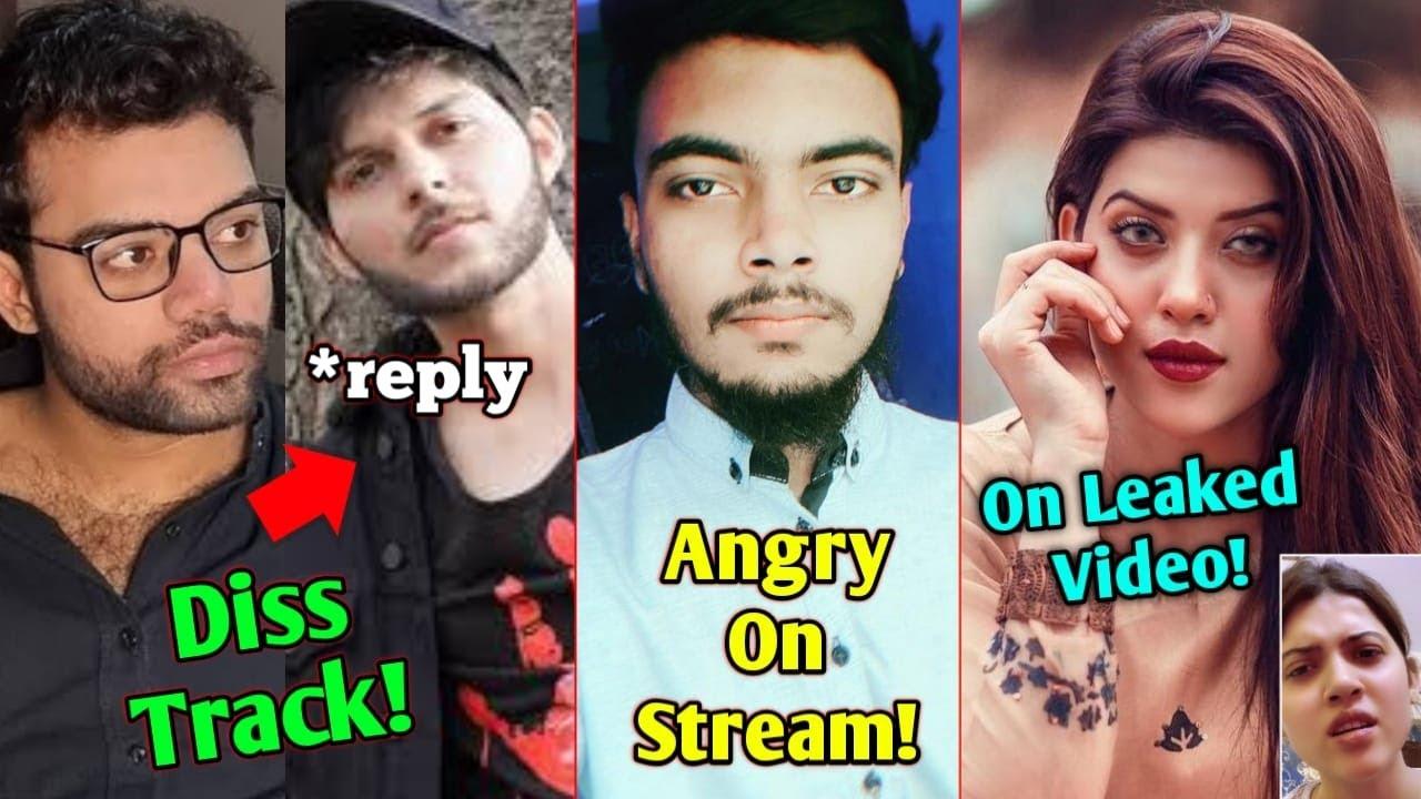Download Nadeem Nani Wala Reply Ducky Bhai   Star Anonymous ANGRY On Stream   Aiman Zaman On Fake Leak Video 