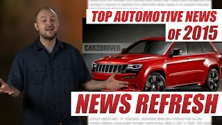 Biggest Automotive and 4x4 News of 2015
