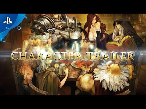 Dragon's Crown Pro - Characters Trailer | PS4
