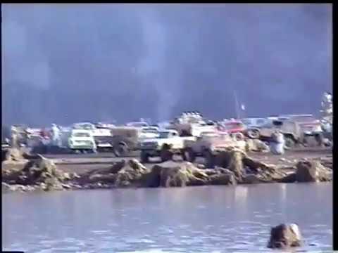 Foster Lake mud flat Races 1999