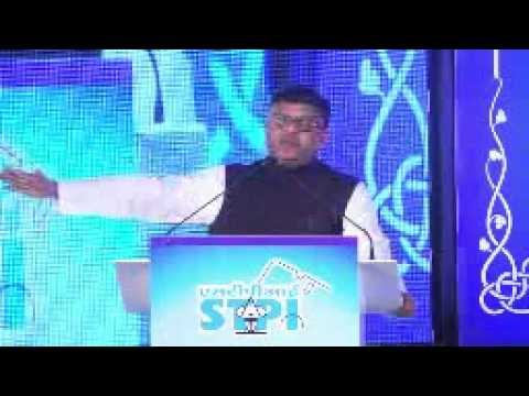 Shri. Ravi Shankar Prasad, Minister of Communication and Information Technology, Government of India