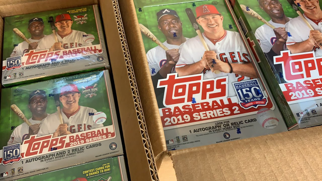 2019 TOPPS SERIES 2 HOBBY AND JUMBO CASE BREAK - YouTube