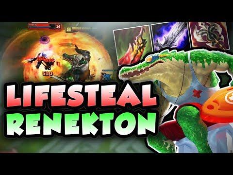 THE KING OF TOP RETURNS! FULL LIFESTEAL RENEKTON! FULL AD RENEKTON TOP SEASON 7! League of Legends