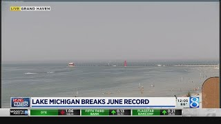 Lake Michigan breaks another record, forecasted to drop