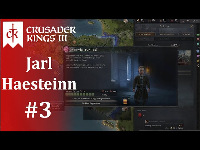 A Brothers' Feud, Crusader Kings III: I Just Can't Wait to Be King, Part 3