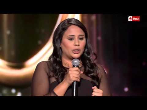 فيديو هبة رحال مقابلة مع براد بيت في حفل الأوسكار - نجم الكوميديا HD