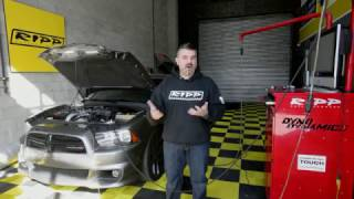 RIPP Supercharged 3.6 Dodge Charger on the Dyno!