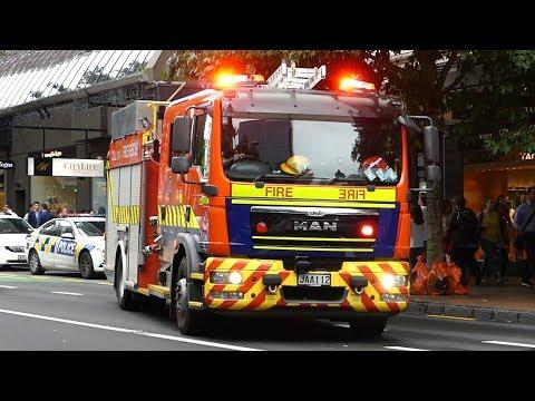 Grey Lynn 261 & Balmoral 611, Alarms Sounding, Auckland NZ, 14 Feb 2018