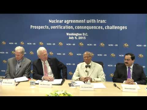 NCRI-US Panel on Iran Nuclear Negotiations 8 July 2015