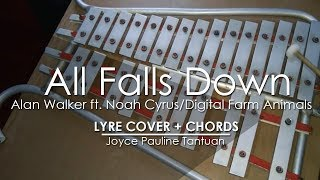 Download Lagu All Falls Down - Alan Walker ft. Noah Cyrus & Digital Farm Animals - Lyre Cover Mp3