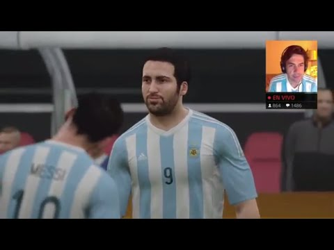 ARGENTINA vs CHILE FINAL COPA AMERICA 2016 EN DIRECTO MEJORES GOLES FIFA 16