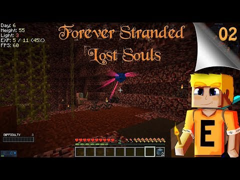 Forever Stranded Lost Souls EP02 - Slow Progress (Modded Minecraft)