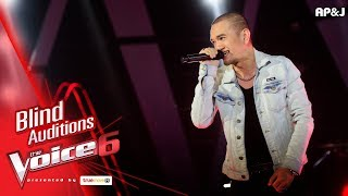 จิน - บางระจัน - Blind Auditions - The Voice Thailand 6 - 26 Nov 2017