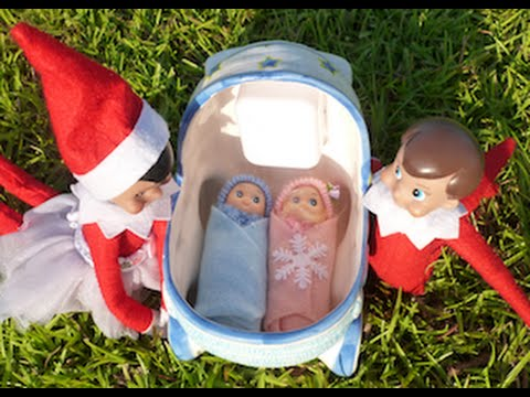 ELF ON THE SHELF ANNOUNCEMENT: BABY ELVES HAVE THEIR NAMES!