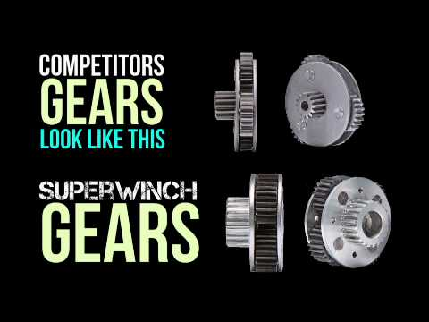 Superwinch Terra ATV winch - what makes it better?