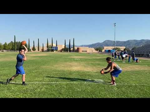 Camp Verde High School football workouts