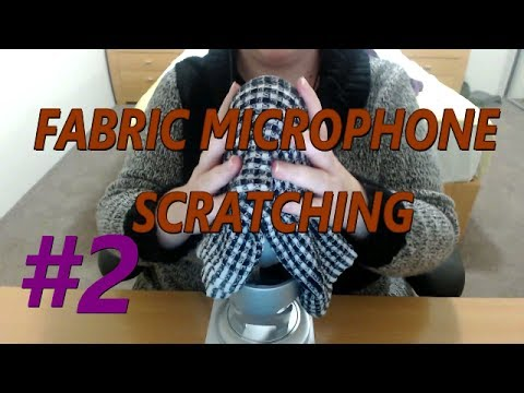 ASMR | 💕 Fast Fabric Microphone Scratching #2 💕 (HARSH LOUD SOUNDS) - No Talking