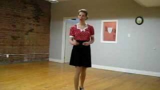 Toronto Dance Lessons: Learn or Practice your Rock n' Roll Footwork (aka Boogie Woogie footwork)