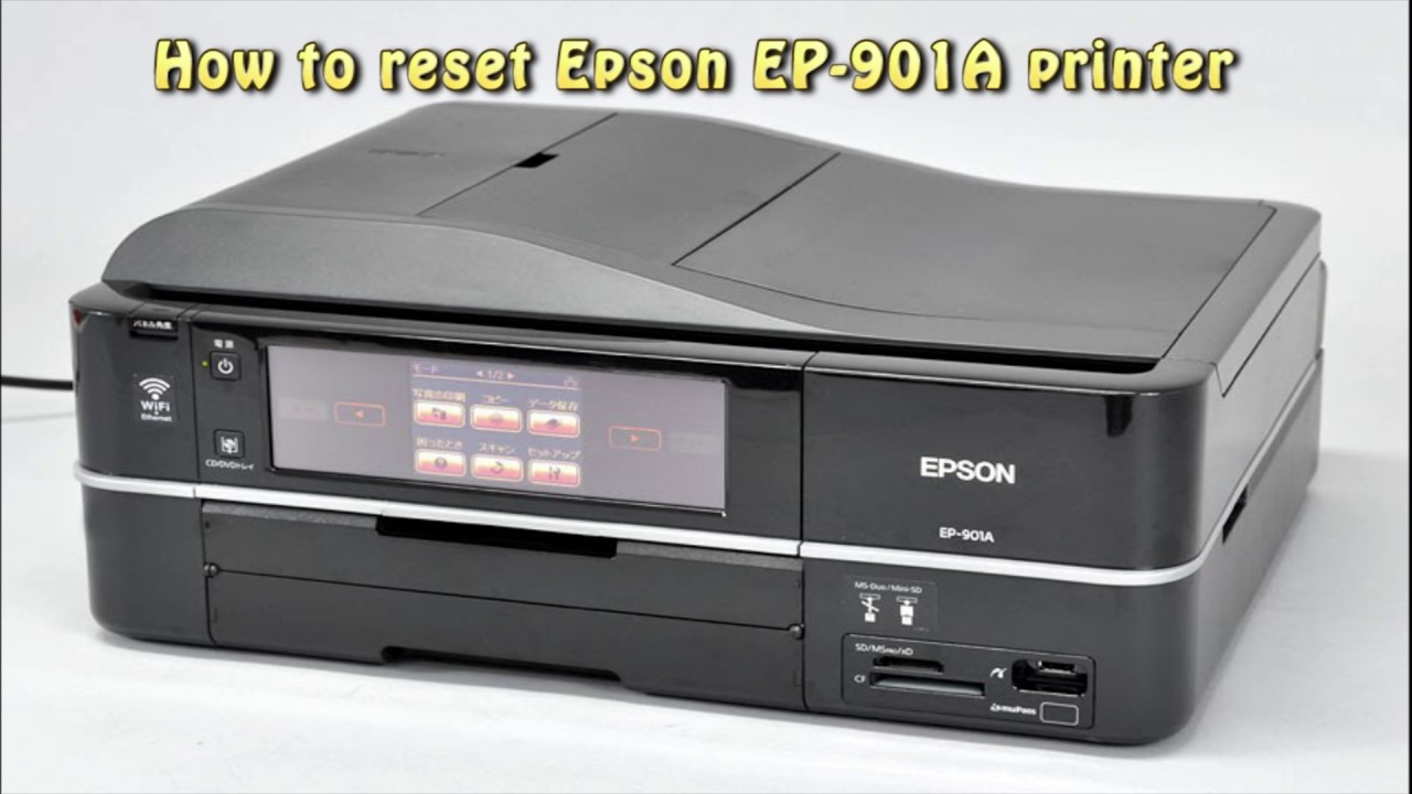EPSON EP-901A PRINTER TELECHARGER PILOTE