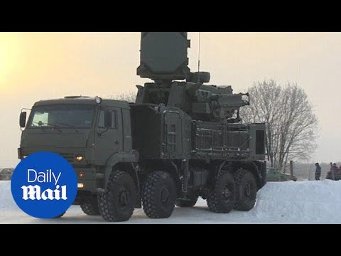 Russia deploys advanced air defense system around Moscow - Daily Mail