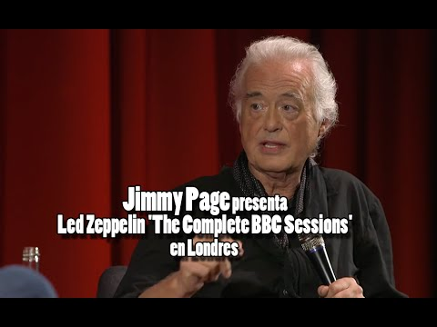 Jimmy Page presenta Led Zeppelin 'The Complete BBC Sessions' en Londres