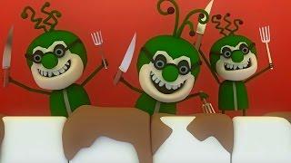 Аркадий Паровозов спешит на помощь - Почему необходимо чистить зубы утром и вечером - мультфильм