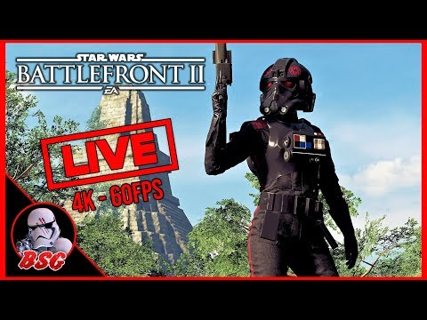 Scuf Vantage Incoming 🙂 Star Wars Battlefront 2 PC and XB1X Gameplay | 4K Live Stream (4K 60FPS) thumbnail