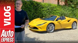 Ferrari F8 Spider video blog - what a beauty!