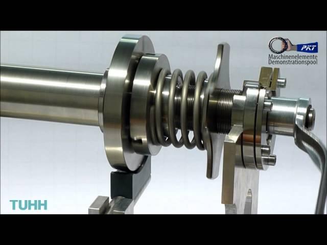 TUHH PKT Funktionsdemonstrator Kugelüberlastkupplung