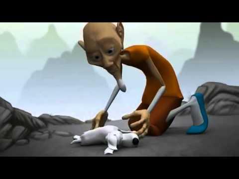 mutluluk animasyon  kisa film