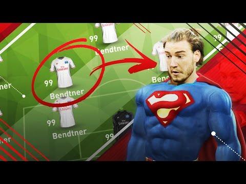 WIE SPIELT EIN 99 OVERALL TEAM IN DER BUNDESLIGA??!!! FIFA 17 EXPERIMENT#6