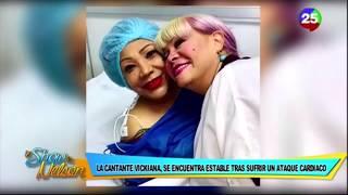 Vickiana se encuentra estable tras sufrir infarto