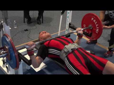 REG FA 2016 - Tony DC 155kg