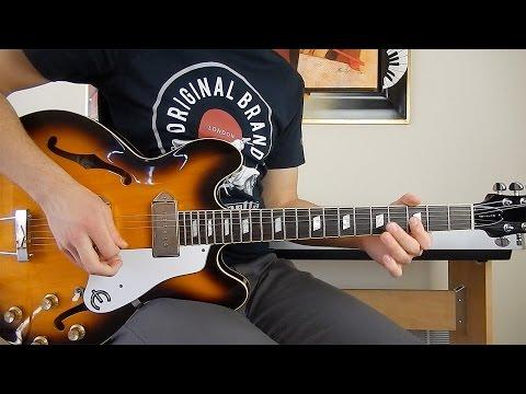 The Beatles - Taxman - Guitar Cover - Epiphone Casino