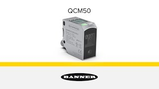 QCM50 High-Performance Color Sensor with IO-Link