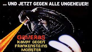 Gameras Kampf gegen Frankensteins Monster (Fantasy, ganzer Film, Deutsch)