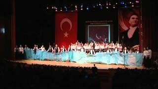 ÖZEL ATAŞEHİR ADIGÜZEL GÜZEL SANATLAR LİSESİ - ATATÜRK ORATORYOSU - 10 KASIM 2010