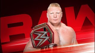 WWE Monday Night Raw- July 16, 2018 Highlights Preview | WWE Raw 07/16/2018 Highlight