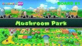 Mario Party 10 (Wii U 720p) Board #1: Mushroom Park