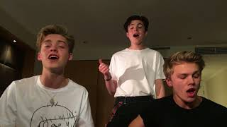 Staying Up - Matoma & The Vamps (Cover by New Hope Club)