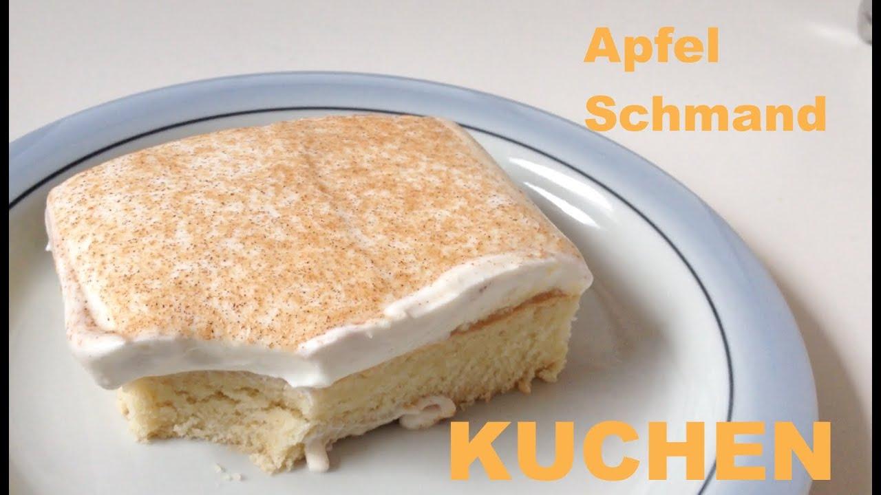 Apfel  Schmand  Kuchen I LECKER  YouTube