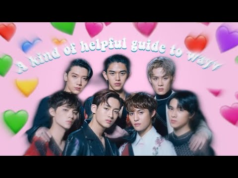 A Kind of Helpful Guide to WayV (predebut edition)