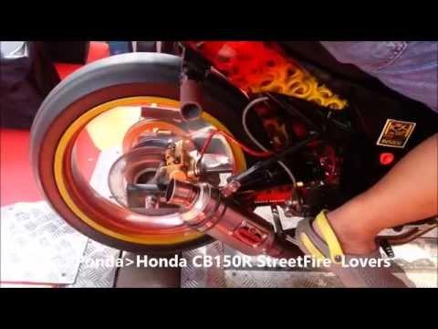 OVER RACING EXHAUST HONDA CB150R