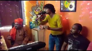 Nazar ke samne jigar ke pas hindi karaoke song by Ravindra Rasila