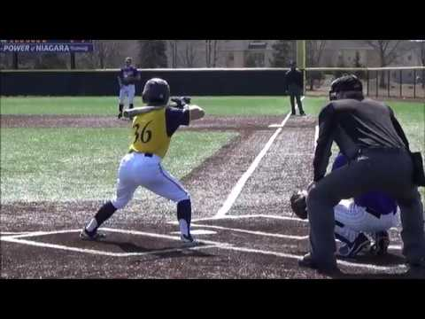 Quinnipiac University Baseball At Niagara University GAME 1 March 29, 2019