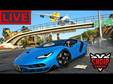GTA 5 SHQIP Live - Knaqesia e Kesaj Loje (+ Fortnite ) !! - SHQIPGaming thumbnail