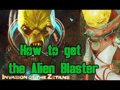 Fallout 4 - How to get the Alien Blaster & Trigger the UFO Event