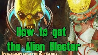Fallout 4 - How to get the Alien Blaster Trigger the UFO Event