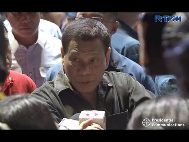 Duterte: I don't know businessman who filed case vs Maria Ressa