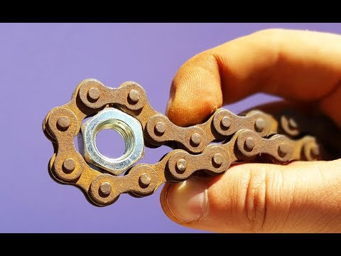 Wow! How to Make a Chain Universal Key |Amazing Ideas